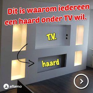 Cinewall Haarden Elektrische Sfeerhaarden In Uw Tv Wand